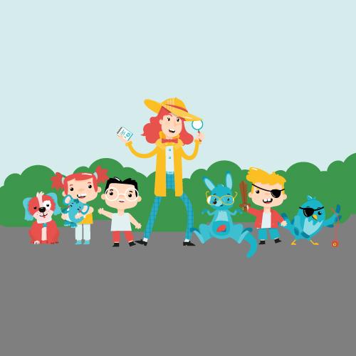 Nova Find Podcast für Kinder